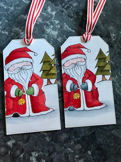 Santa Christmas Gift Tags (2)