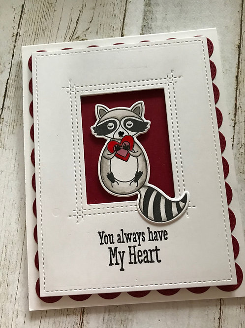 Love Bandit 2 Valentine Card