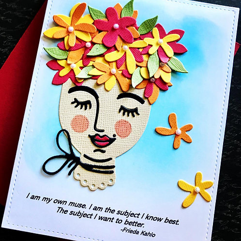 My Own Muse Greeting Card