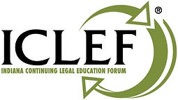 ICLEF Logo, Indiana Continuing Legal Education Forum Logo