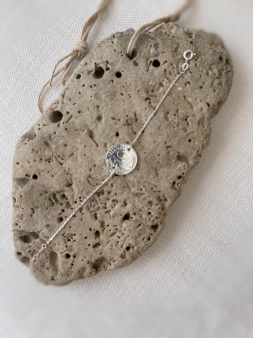 Bracelet chainette Argent