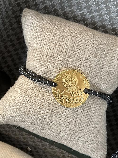 "Bracelet ""frères Mongolfiers "" or"