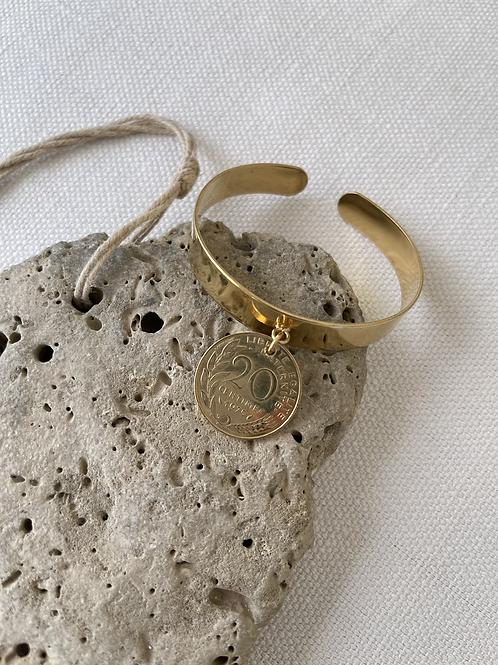 Bracelet «Jonc «20 centimes