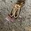 Thumbnail: Boucles d'oreilles «sable «