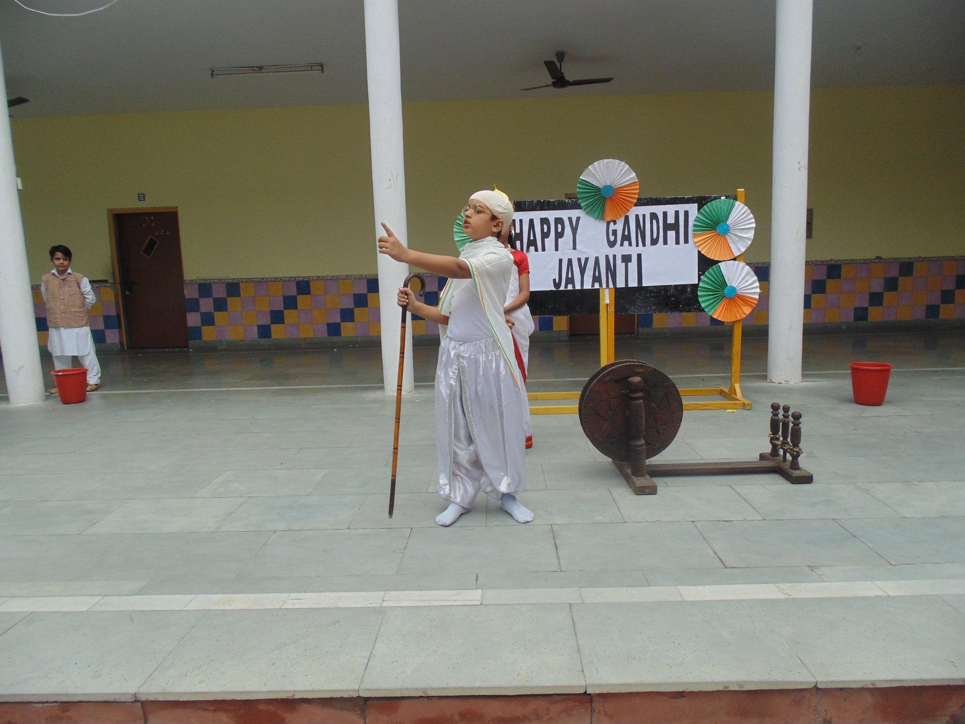 Gandhi jayanti..