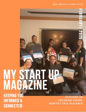 My Start-Up Newsletter