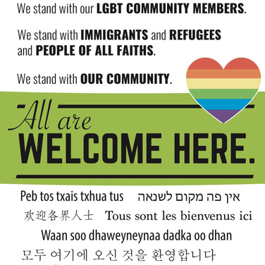 All Are Welcome Here - Main Street Alliance