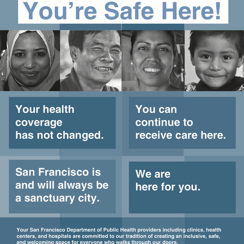 SFDPH You're Safe Here - English