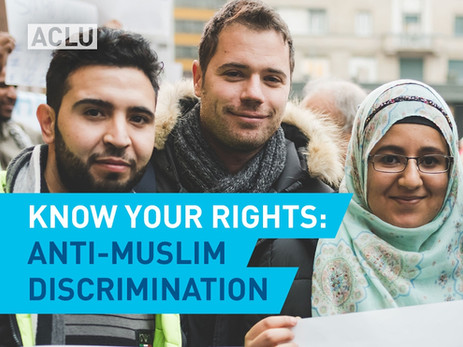 ACLU Video - Know Your Rights: Anti-Muslim Discrimination