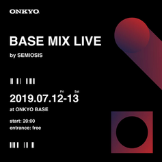 ONKYO BASS 1st Anniversary LIVE