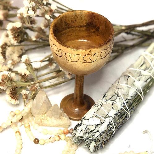 Keltischer Holzkelch