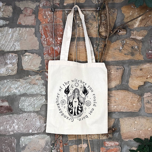 """Granddaughter of the witches""  Tote bag"