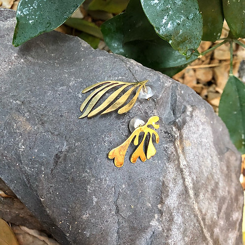 Blätter Ohrstecker (unterschiedlich)