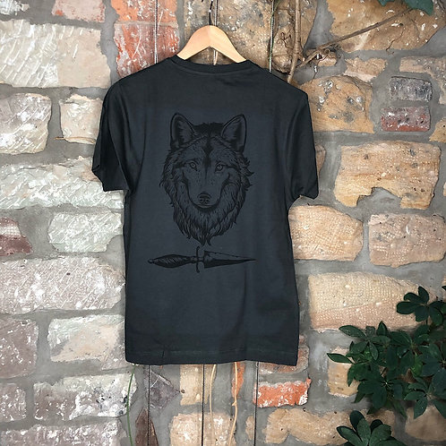 """Tshirt """"Wolf"""" Front und Backprint"""