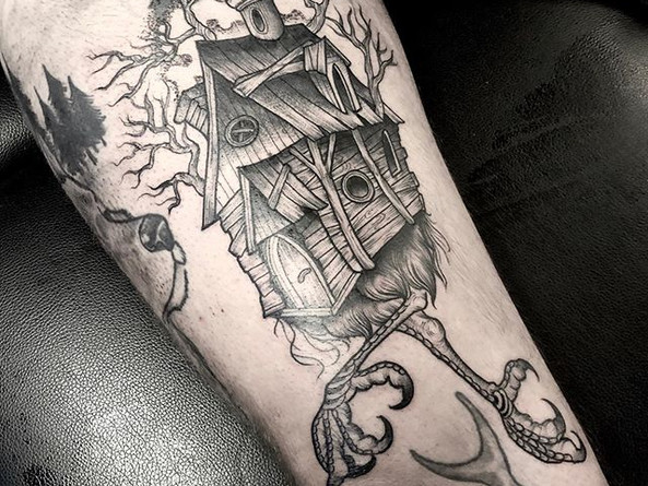 🤍 Thanks Dietrich. More tattoos like th