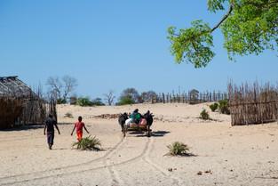 Village in Anjajavy, Madagascar