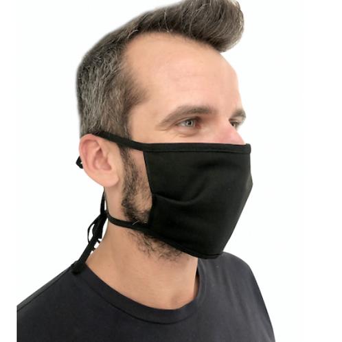 100 Mascherine protezione in cotone 3 strati