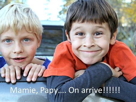 Grands-parents sitters … le retour!