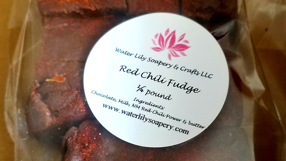 Red Chili Fudge - 1/4 pound