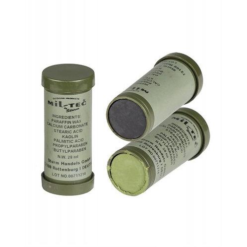 Грим-олівець для обличчя (олива-чорний) Sturm Mil-Tec®, [1266] Оливковий/чорний