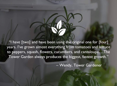 Grow Your Own Produce with Tower Garden!
