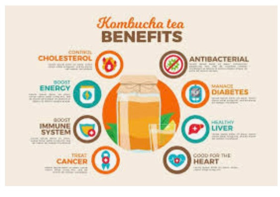 Make your own Kombucha for improved health .