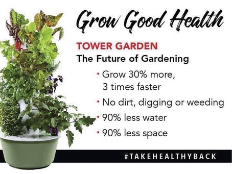 We're Thrilled To Introduce Tower Garden Home!