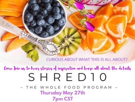 Come Join Us to Hear Stories of Inspiration and Learn About Shred10