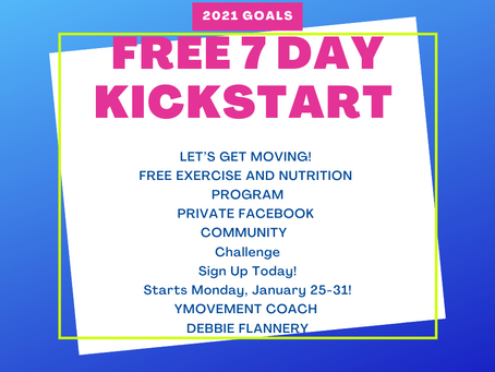 FREE 7 Day Kickstart - Exercise and Nutrition Program