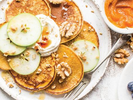 Spicy Pumpkin Pancakes. Yummy!