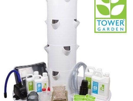 What do I get when I purchase the bigger Tower Garden FLEX?