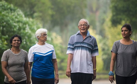 Walking Benefits Older Adults With Arthritis