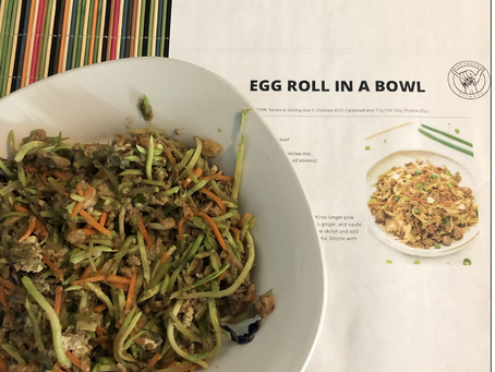 """Egg Roll in a Bowl""..."