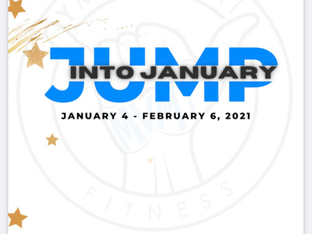 """Jump Into January"" 5 Weeks of Nutrition and Exercise"