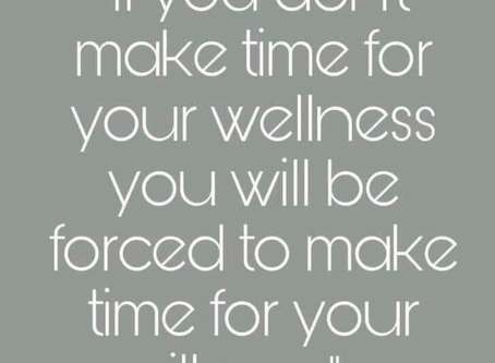 Take Time for Wellness!