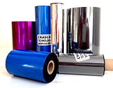 Thermal transfer ink ribbons for barcode printers