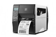 Barcode printers - direct thermal and thermal transfer using thermal transfer ink ribbons