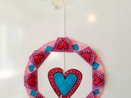 Create A Valentine's Wreath