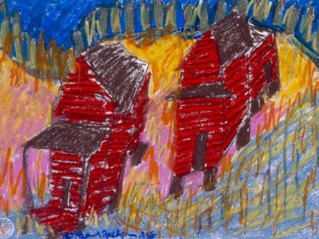 Beverly Buchanan and Patchwork Houses