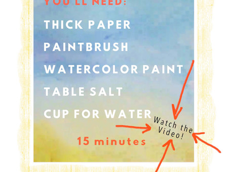 Salty Beach Painting Tutorial