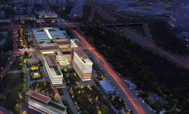 Collison and integration arising from hospital design in an urban context.JPG