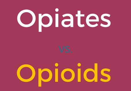 Opiates vs Opioids: What's the difference?