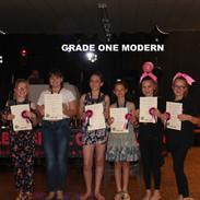 Grade One Modern x