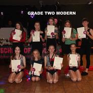 Grade Two Modern x