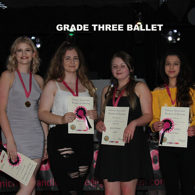 Grade Three Ballet x
