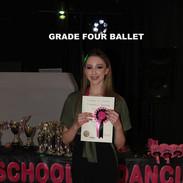 Grade Four Ballet x