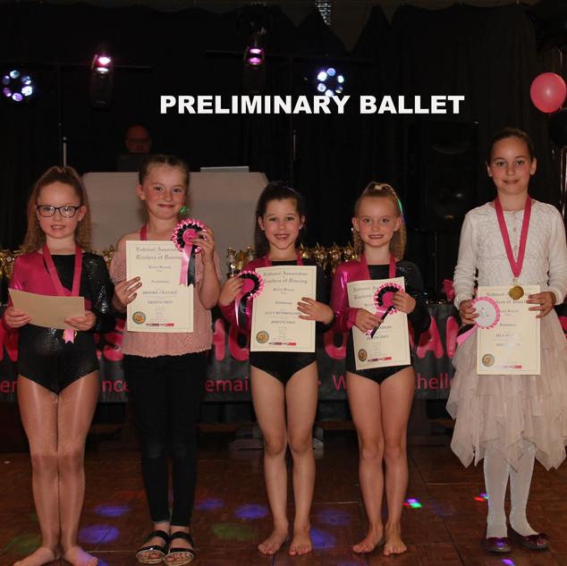 Preliminary Ballet x