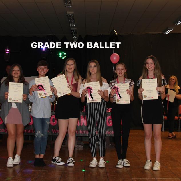 Grade Two Ballet x
