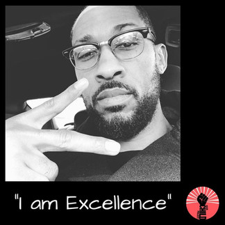 "@comedianmikehead ""I am Exellence"""