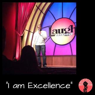 "@omaribchillin ""I am Exellence"""